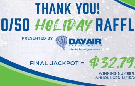 Day Air Credit Union Sponsored Raffle Raises $16,700 for Dayton Foodbank