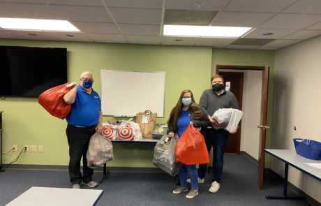 Day Air Credit Union Gives Back to Their Communities for the Holidays